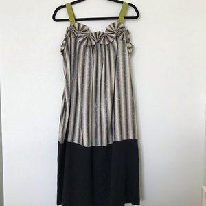 Max Azria Resort Collection Summer Dress Safari